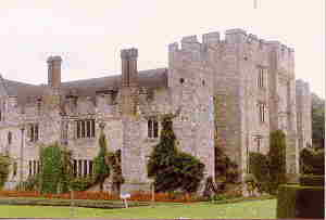 HEVER CASTLE IN ENGLAND
